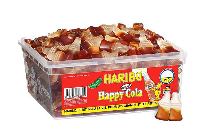 bonbons bouteilles de Coca Cola