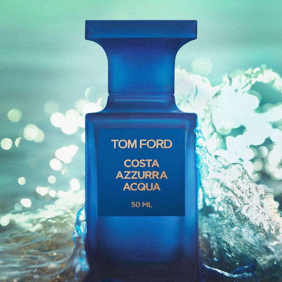 Tom Ford costa azzura acqua