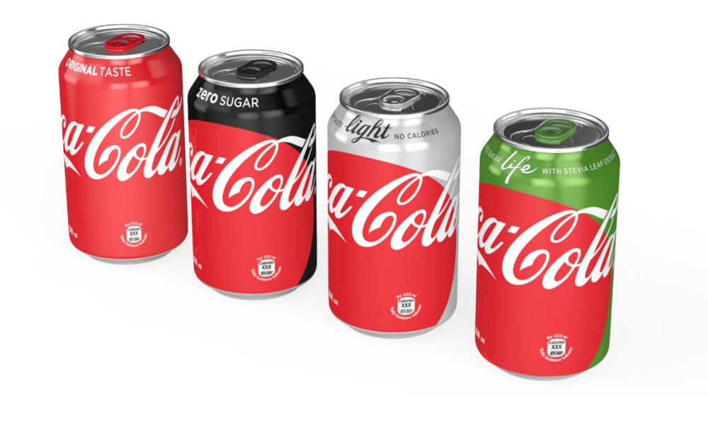 nouvelles canettes coca cola