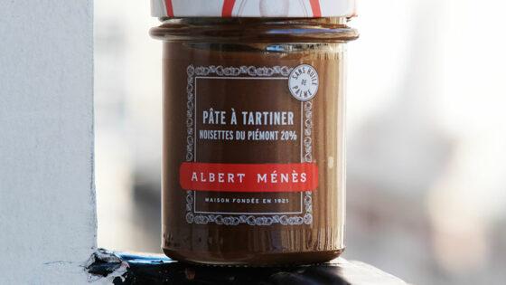 Pâte à tartiner Albert Ménès Noisettes du Piémont