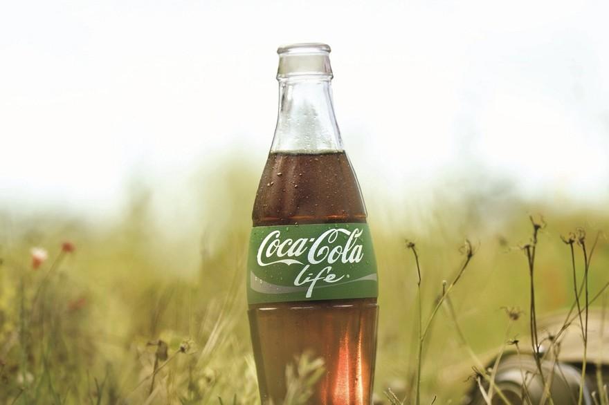 nouveau coca cola life